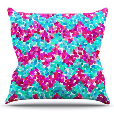 Scattered by Beth Engel Outdoor Throw Pillow