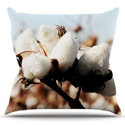 Southern Snow by Beth Engel Outdoor Throw Pillow