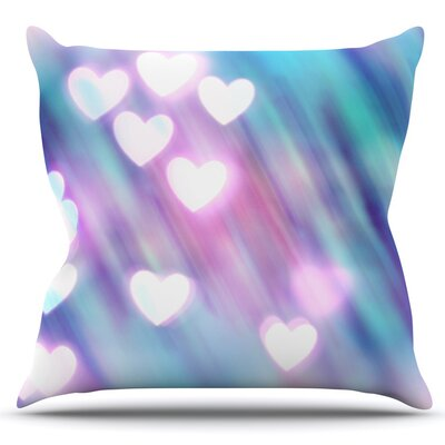 Your Love is Sweet Like Candy by Beth Engel Outdoor Throw Pillow