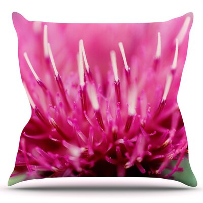 Frosted Tips by Beth Engel Outdoor Throw Pillow