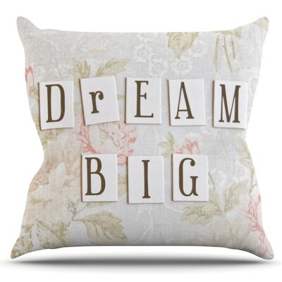 Dream Big by Debbra Obertanec Outdoor Throw Pillow
