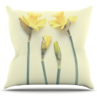 Springtime by Debbra Obertanec Outdoor Throw Pillow
