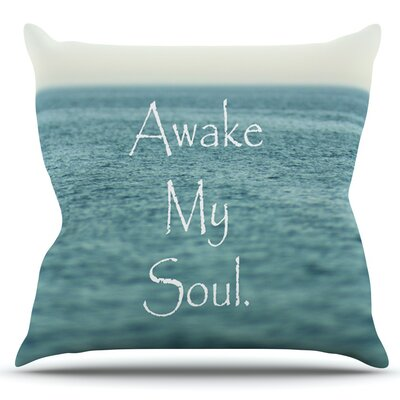 Awake My Soul by Debbra Obertanec Outdoor Throw Pillow