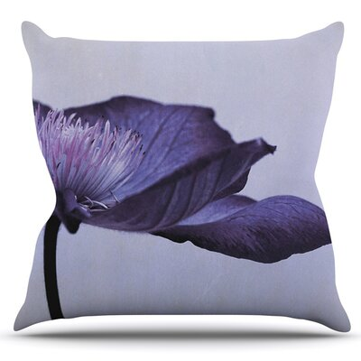 Indigo by Iris Lehnhardt Outdoor Throw Pillow