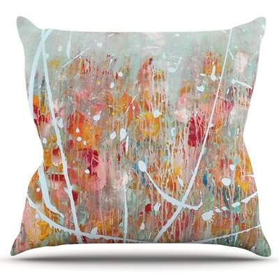 Joy by Iris Lehnhardt Outdoor Throw Pillow