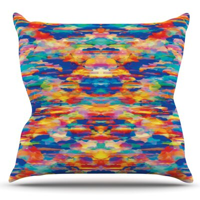 Cloud Nine by Kathryn Pledger Outdoor Throw Pillow