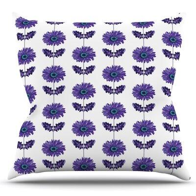 Gerbera by Laura Escalante Outdoor Throw Pillow