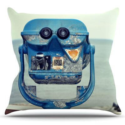Way Out There by Robin Dickinson Outdoor Throw Pillow