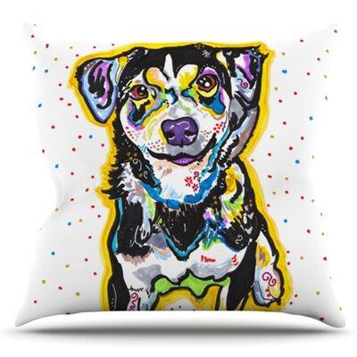 Jasper by Rebecca Fischer Outdoor Throw Pillow