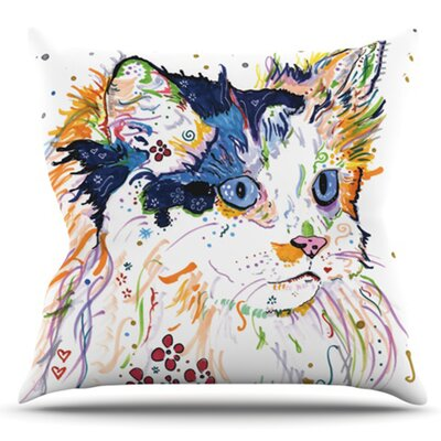 Sophia by Rebecca Fischer Outdoor Throw Pillow