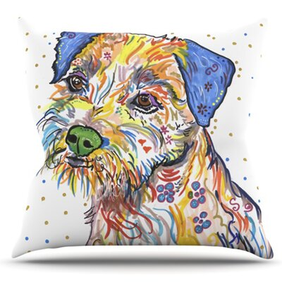 Rory by Rebecca Fischer Outdoor Throw Pillow