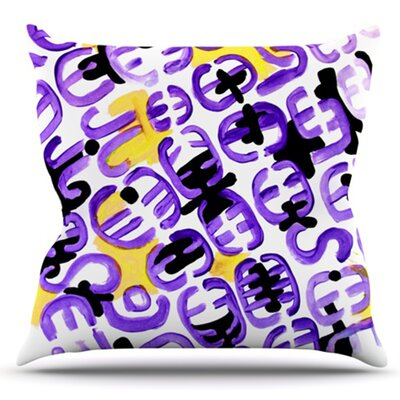 Theodoras Attitude by Theresa Giolzetti Outdoor Throw Pillow