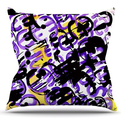 Theodoras Mess by Theresa Giolzetti Outdoor Throw Pillow