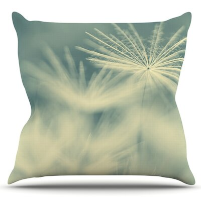 Snowflake by Ingrid Beddoes Outdoor Throw Pillow