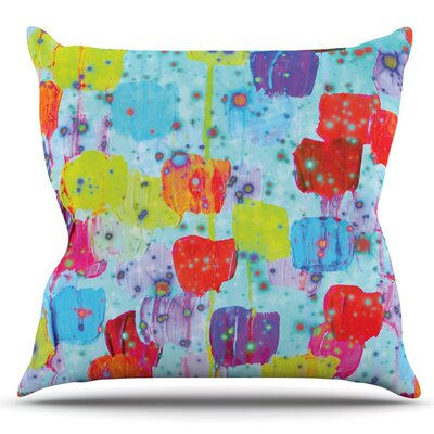 Speckle Me Dotty by Ebi Emporium Outdoor Throw Pillow