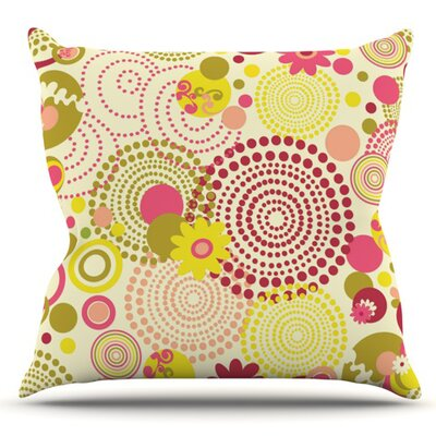 Poa by Louise Machado Outdoor Throw Pillow