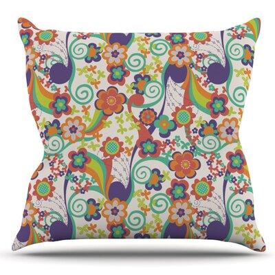 Printemps by Louise Machado Outdoor Throw Pillow