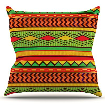 Egyptian by Louise Machado Outdoor Throw Pillow