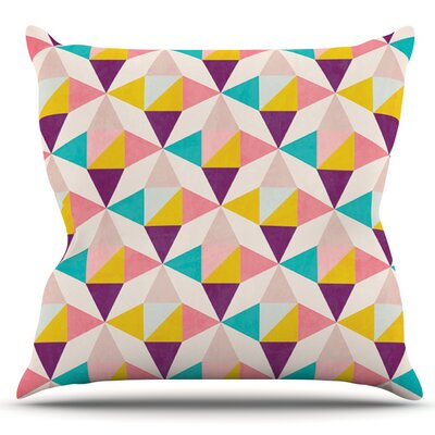 Amethyst by Louise Machado Outdoor Throw Pillow