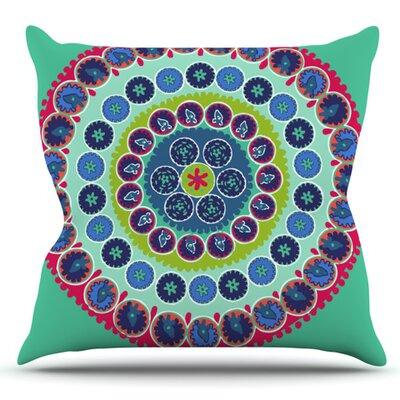 Surkhandarya by Laura Nicholson Outdoor Throw Pillow
