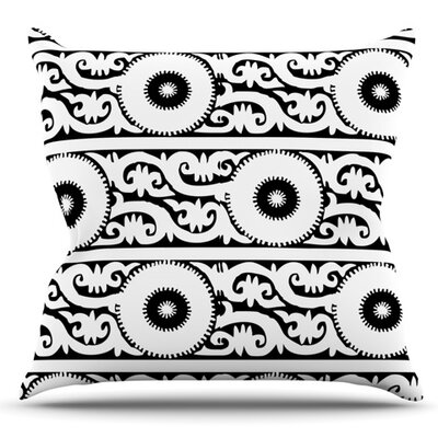 Samarkand by Laura Nicholson Outdoor Throw Pillow