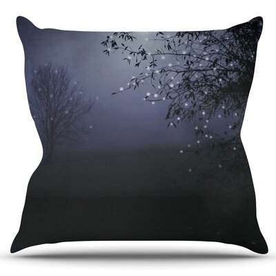 Song of the Nightbird by Monika Strigel Outdoor Throw Pillow