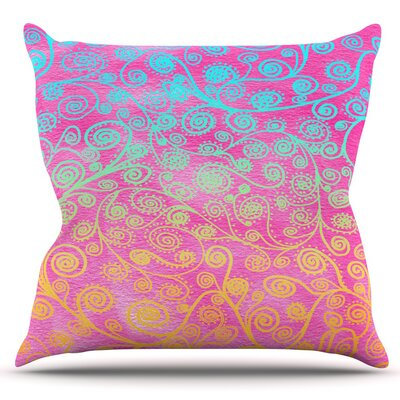 Get Lucky by Monika Strigel Outdoor Throw Pillow