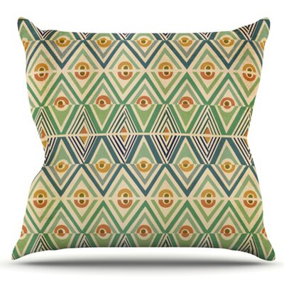 Celebration by Pom Graphic Design Outdoor Throw Pillow