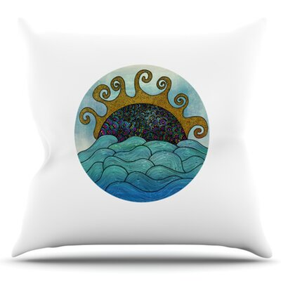 Oceania by Pom Graphic Design Outdoor Throw Pillow