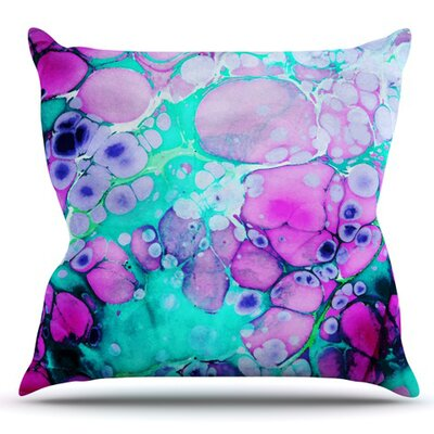 Dreaming in Color by Sylvia Cook Outdoor Throw Pillow