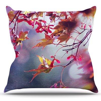 Autumn by Sylvia Cook Outdoor Throw Pillow