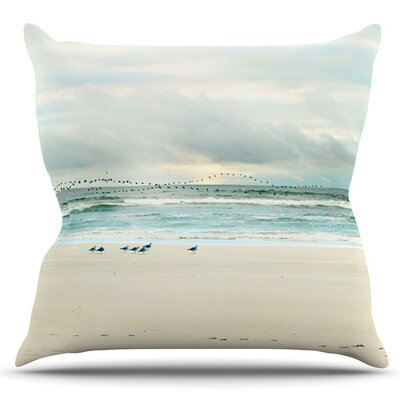 Flight by Sylvia Cook Outdoor Throw Pillow