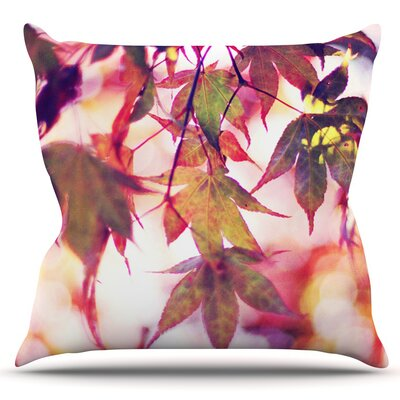 On Fire by Sylvia Cook Outdoor Throw Pillow