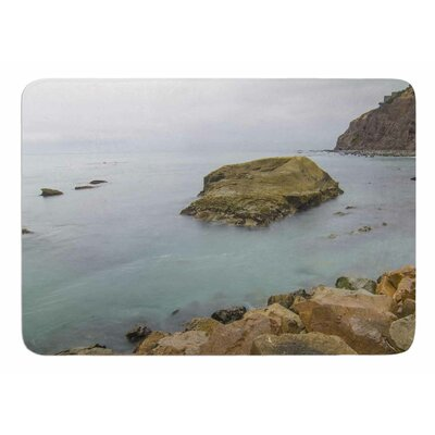 Rock Above Water by Nick Nareshni Bath Mat