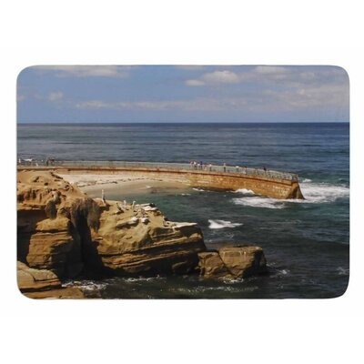 Ocean Jetty by Nick Nareshni Bath Mat