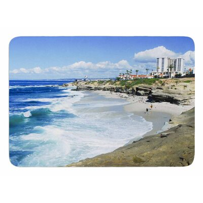 Beach Playground by Nick Nareshni Bath Mat