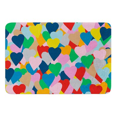 More Hearts by Project M Bath Mat