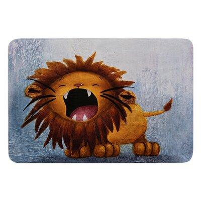 Dandy Lion by Rachel Kokko Bath Mat
