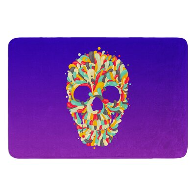 Jelly Skull by Roberlan Bath Mat
