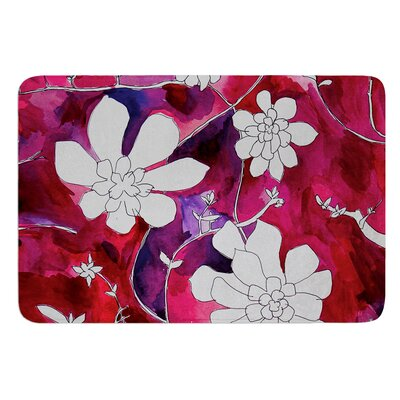 Succulent Dance II by Theresa Giolzetti Bath Mat