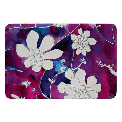 Succulent Dance III by Theresa Giolzetti Bath Mat