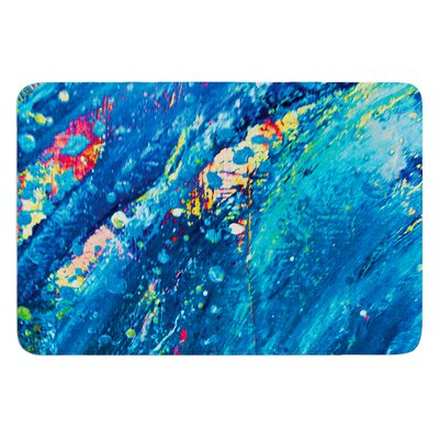 Big Wave by Theresa Giolzetti Bath Mat