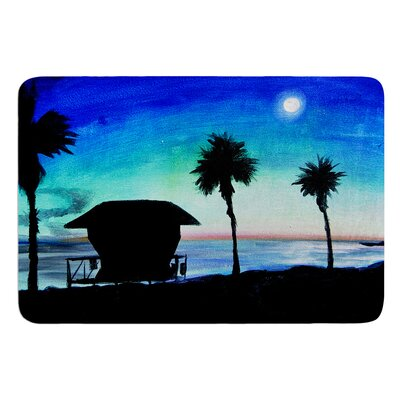 Carlsbad State Beach by Theresa Giolzetti Bath Mat