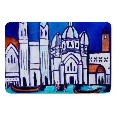 Venice by Theresa Giolzetti Bath Mat