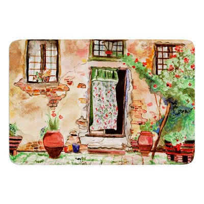 Tuscan Door by Theresa Giolzetti Bath Mat