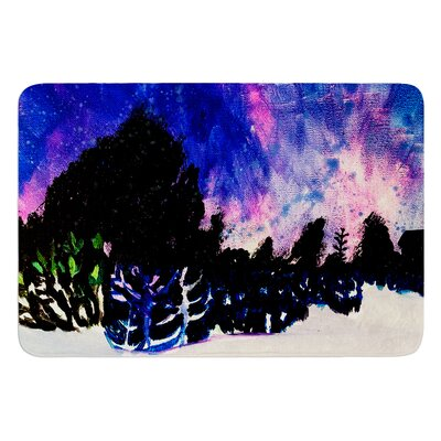 First Snow by Theresa Giolzetti Bath Mat