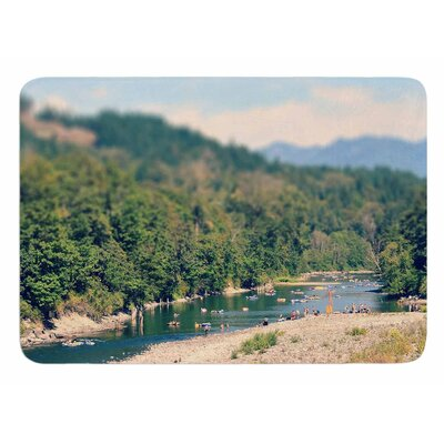 Summertime Float by Robin Dickinson Bath Mat