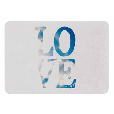 LOVE by Robin Dickinson Bath Mat