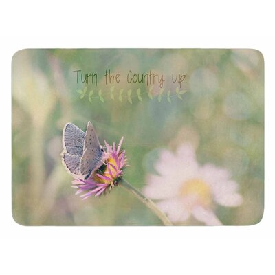 Turn The Country Up by Robin Dickinson Bath Mat