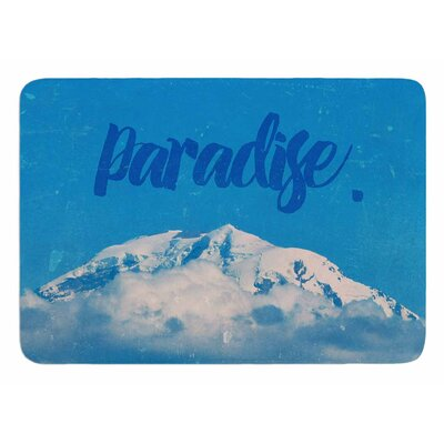 Paradise. by Robin Dickenson Bath Mat